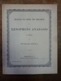 Gemoll, Beiträge zur Kritik und Erklärung von Xenophons Anabasis – II. Theil,
