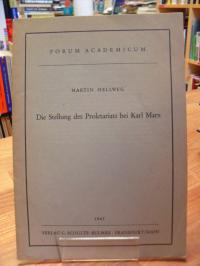 Hellweg, Die Stellung des Proletariats bei Karl Marx,