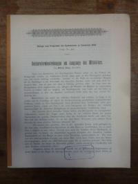 Rosen, Reichsreformbestrebungen am Ausgange des Mittelalters.,