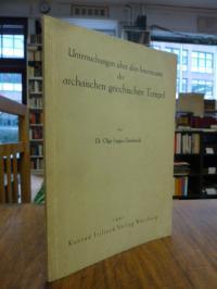 Lappo-Danilewski, Untersuchungen über den Innenraum der archaischen griechischen