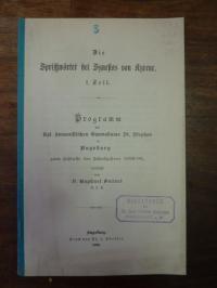 Sollert, Die Sprichwörter des Synesios von Kyrene,