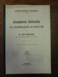Meyersahm, Xenophons Hellenika als Geschichtsquelle im Unterricht,