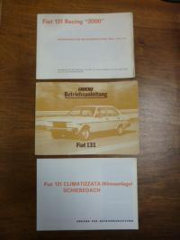 FIAT, Betriebsanleitung Fiat 131 Mirafiori CL / Mirafiori L / Siperm