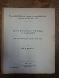Fofs, Teil 1. Kirchen – reformatorische Bestrebungen im 9. Jahrhundert. Teil 2.