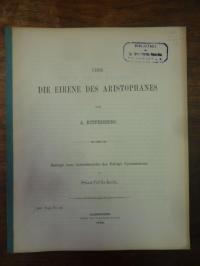 Aristophanes / Ruppersberg, Über die Eirene des Aristophanes,