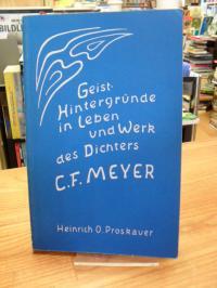 Proskauer, Conrad Ferdinand Meyer – Geist-Hintergründe in Leben und Werk des Dic