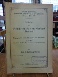 Döhmann, Beiträge zur Geschichte der Stadt und Grafschaft Steinfurt II: Topograp