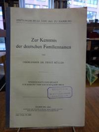 Müller, Zur Kenntnis der deutschen Familiennamen,