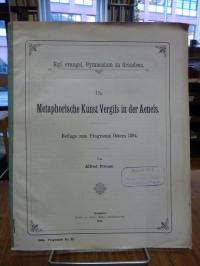 Preuss, Die metaphorische Kunst Vergils in der Aeneis,