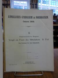 Vergil / Schambach, Vergil ein Faust des Mittelalters – II. (2.) Teil,
