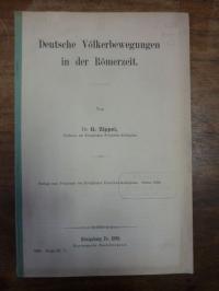 Zippel, Deutsche Völkerbewegungen in der Römerzeit,