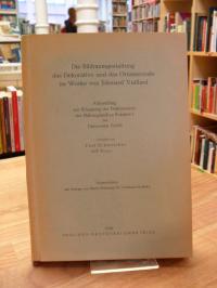 Schweicher von Trier, Die Bildraumgestaltung, das Dekorative und das Ornamentale