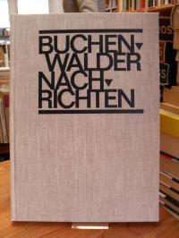 Ritscher, Buchenwalder Nachrichten – Nr. 1 (14. April 1945) – Nr. 28 (16. Mai 19