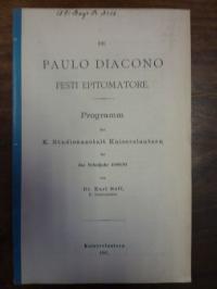 Neff, De Paulo Diacono Festi Epitomatore,