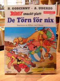 Goscinny, De Törn för nix – Asterix snackt platt – mit Aufkleber!
