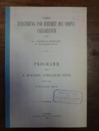 Schiller, Über Entstehung und Echtheit des Corpus Caesarianum,
