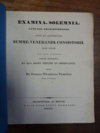 Voemelius, Teil 1: Sit ne restituendum kittophoros pro kistophoros nunc recepto