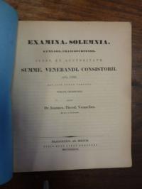 Voemelius, Teil 1: De Euripide Casu Talorum, Teil 2: Schulnachrichten,