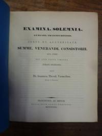 Voemelius, Teil 1: De modis conjunctivo et optativo verborum mi secundum codices