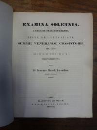 Voemelius, Teil 1: S codicis Demosthenici conditio describitur, Teil 2: Schulnac