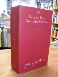 Heine, Sämtliche Schriften – Vierter Band,