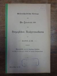 Pinzger, Paul, Brunnenwässer aus der Umgebung Saalfelds.,