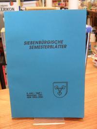 Arbeitskreis für Siebenbürgische Landeskunde e.V. [Hrsg.] Siebenbürgische Semest