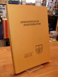 Rumänien / Harald Roth (Hrsg.), Siebenbürgische Semesterblätter – 12. Jahr – Hef