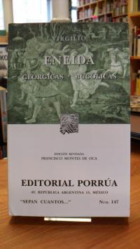 Virgilio (Vergil), Eneida – Georgicas – Bucolicas,