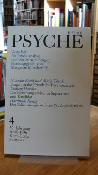 Bohleber, Psyche – Zeitschrift für Psychoanalyse und ihre Anwendungen, Heft 4
