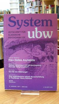 Hoevels, System ubw – Zeitschrift für klassische Psychoanalyse – 21. Jahrgang –