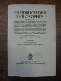 Baumgarten, Rechtsphilosophie, In: Handbuch der Philosophie – Staat und Geschich