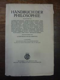 Holstein, Günther, Geschichte der Staatsphilosophie