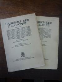 Dempf, Kulturphilosophie, In: Handbuch der Philosophie, Abteilung IV: Staat