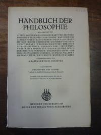 Wolff, Philosophie des Geistes, In: Handbuch der Philosophie, Abteilung II: Natu