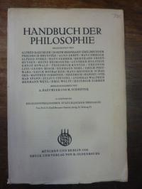 Brunner, Emil, Religionsphilosophie evangelischer Theologie