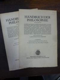 Spann, Gesellschaftsphilosophie, Teile 1 und 2, In: Handbuch der Philosophie, Ab