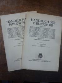 Litt, Ethik der Neuzeit, Teile I und II, In: Handbuch der Philosophie, Abteilung