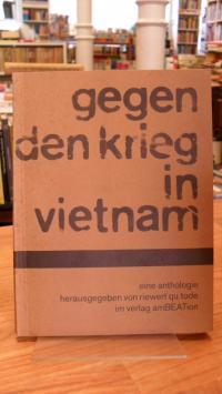 Gegen den Krieg in Vietnam – Eine Anthologie,