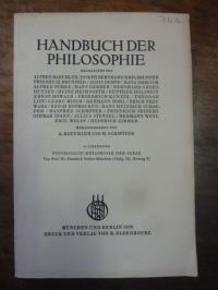 Seifert, Psychologie – Metaphysik der Seele, In: Handbuch der Philosophie, Abtei