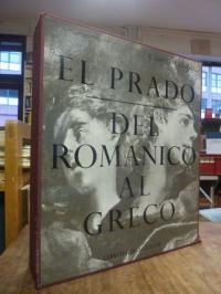 Lafuente Ferrari, El Prado – Del Romanico Al Greco (abweichend auf dem Rücken: '