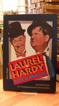 Hoppe, Laurel & Hardy – Life & Magic – Deutsch/English – [Mit Filmplakaten],