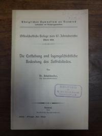 Scheidweiler, Die Entstehung und Bedeutung des Seifridsliedes,