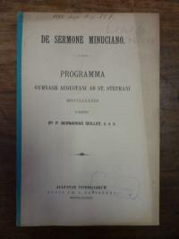 Seiller, De sermone minuciano,