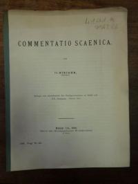 Niejahr, Commentatio scaenica,