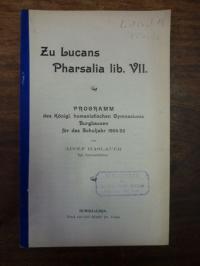 Lukan / Haslauer, Zu Lucans Pharsalia lib. VII,