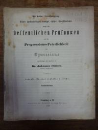 Classen, Symbolae Criticae,