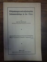 Brandt, Stilgattungen und ursprüngliche Zusammenhänge in der Ilias,
