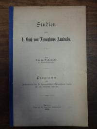 Osberger, Studien zum 1. Buch von Xenophons Anabasis,