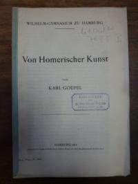 Goepel, Von Homerischer Kunst,